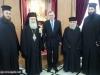 03ألسفير اليوناني الجديد في إسرائيل يزور البطريركية ألاورشليمية