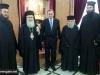 05ألسفير اليوناني الجديد في إسرائيل يزور البطريركية ألاورشليمية