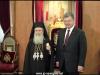 14رئيس الجمهورية ألاوكرانية يزور البطريركية ألاورشليمية