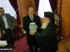 08رئيس بلدية القدس يزور البطريركية