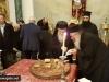 05تقطيع كعكة الفاسيلوبيتا (كعكة رأس السنة) في البطريركية ألاورشليمية 2017