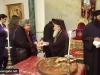 09تقطيع كعكة الفاسيلوبيتا (كعكة رأس السنة) في البطريركية ألاورشليمية 2017
