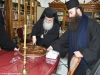 07حفل تقطيع كعكة رأس السنة الفاسيلوبيتا في مدرسة البطريركية ألاكليريكية