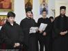 08حفل تقطيع كعكة رأس السنة الفاسيلوبيتا في مدرسة البطريركية ألاكليريكية