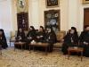 04زيارة أخوية القبر المقدس للبطريركية ألارمينية بمناسبة عيد الميلاد المجيد