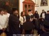 """02طلاب ألمدرسة الموسيقية """"آليموس"""" يزورون البطريركية"""