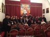 """06طلاب ألمدرسة الموسيقية """"آليموس"""" يزورون البطريركية"""