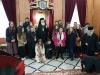 """1طلاب ألمدرسة الموسيقية """"آليموس"""" يزورون البطريركية"""