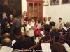 """11طلاب ألمدرسة الموسيقية """"آليموس"""" يزورون البطريركية"""