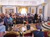 34غبطة البطريرك يستقبل زواراً من كريت ,روسيا وصربيا.