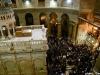 10مراسم الإحتفال بمناسبة الإنتهاء من أعمال تصليح وترميم بناء القبر المقدس في كنيسة القيامة