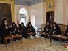 15أخوية القبر المقدس تزور الطوائف المسيحية في القدس بمناسبة عيد الفصح المجيد