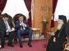 زيارة رئيس الوزار الأوكراني الى البطريركية الأورشليمية