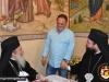 17الإحتفال بعيد القديس جوارجيوس اللابس الظفر في كنيسة ممثلية البطريركية الرومانية