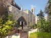 1616. الكنيسة الصغيرة الملاصقة لكنيسة القديس جوارجيوس (يسار الصورة)
