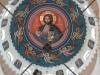 13قبة الكنيسة من الداخل واللوحة التي استغرقت من الأب يوستينوس ٦ أشهر لرسمها