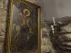 54. أيقونة القديس جاورجيوس الذي اجترح عديداً من المعجزات في المنطقة وتعود لزمنٍ طويل