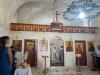 Ma`lul (9)[823]9. الكنيسة حالياً كما تبدو من الداخل، وفي يوم الاحتفال بتذكار النبي إيليا [في ٢٠١٧].