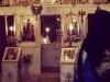 St. George (8)[981]8. جدار قدس الأقداس وجانب من ثوب غبطة البطريرك أثناء السهرانية