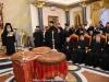 04تقطيع كعكة رأس السنة (الفاسيلوبيتا) في البطريركية
