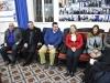02تقطيع كعكة الفاسيلوبيتا في مقر الجالية اليونانية في القدس