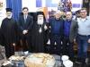 18تقطيع كعكة الفاسيلوبيتا في مقر الجالية اليونانية في القدس