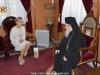 رئيسة حزب المعارضة الأوكراني تزور البطريركية