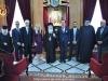 وزير خارجية قبرص يزور البطريركية