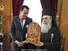 05وزير خارجية قبرص يزور البطريركية