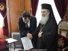 08وزير خارجية قبرص يزور البطريركية