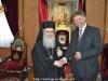 03القنصل العام الجديد للمملكة المتحدة البريطانية يزور البطريركية