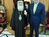 6نائب وزير التنمية الزراعية اليوناني يزور البطريركية