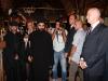 غبطة البطريرك ورئيس الوزراء عند الجلجثة مكان الصلب