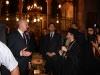 غبطة البطريرك ورئيس الوزراء في كنيسة نصف الدنيا