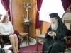 نائبة رئيس الوزراء الملدوفي تزور بطريركية الروم الارثوذكسية