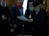 غبطة البطريرك ثيوفيلوس يكرم رئيس الوزراء الفلسطيني السابق سلام فياض
