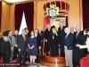 11حاكم ولاية ميسوري في الولايات المتحدة يزور البطريركية ألاورشليمية