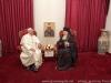 مقابلة قداسة البابا وغبطة البطريرك المسكوني في بيت غبطة بطريرك المدينة المقدسة الصيفي