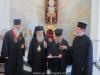 غبطة البطريرك يكرم نيافة مطران بترا وخيرونيسوس نيكتاريوس