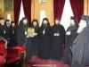 08بعثة كنسية من البطريركية الرومانية تزور البطريركية ألاورشليمية