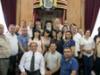 زيارة مجموعة من طائفة الروم الأرثوذكس في مدينة سخنين بالشمال لبطريركية الروم الأرثوذكسية في القدس