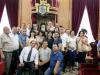 -زيارة مجموعة من طائفة الروم الأرثوذكس في مدينة سخنين بالشمال لبطريركية الروم الأرثوذكسية في القدس