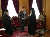 غبطة البطريرك يكرم ممثل الدولة الهنغارية في رام الله
